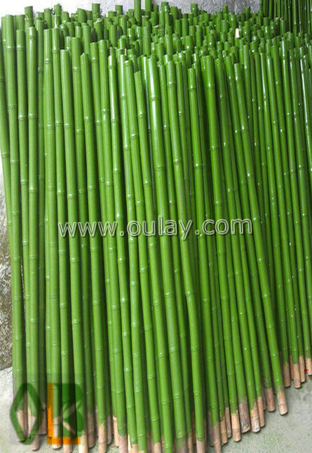 Plastic coated bamboo oulay industry